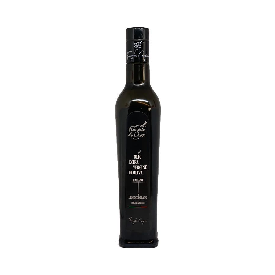 Pitted extra virgin olive oil bottle 500 ml